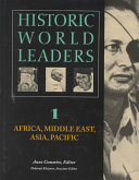 Historic World Leaders  Africa  Middle East  Asia  Pacific