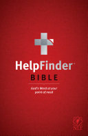 Helpfinder Bible NLT  God s Word at Your Point of Need