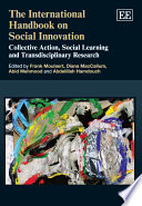 The International Handbook On Social Innovation Book PDF