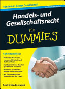 Handels- und Gesellschaftsrecht f?r Dummies