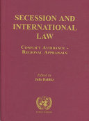 Secession and International Law