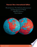 Work Systems: Pearson New International Edition