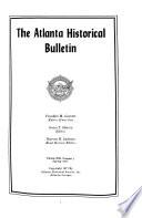 The Atlanta Historical Bulletin