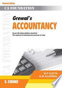 Grewal's Accountancy (For CA Foundation), 5e