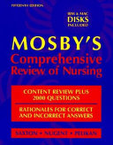 Mosby s Comprehensive Review of Nursing