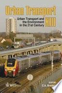 Urban Transport XIII Book