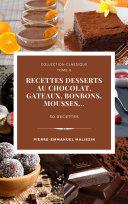 Pdf Recettes chocolats, Desserts, Bonbons, Gateaux Telecharger