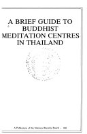 A Brief Guide to Buddhist Meditation Centres in Thailand