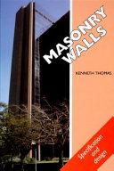 Masonry Walls Book
