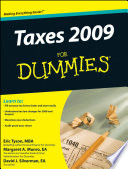 Taxes 2009 For Dummies Book