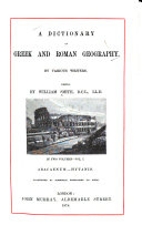A Dictionary of Greek and Roman Geography  Abacaenum Hytanis
