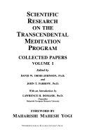 Scientific Research on the Transcendental Meditation Program