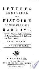 Lettres angloises ou l'histoire de Miss Clarissa Harlove Pdf/ePub eBook
