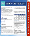 French Verbs  Speedy Language Study Guides