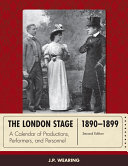 Pdf The London Stage 1890-1899 Telecharger