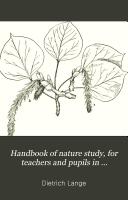 Handbook of Nature Study Book