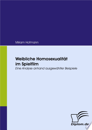 "Download Weibliche Homosexualit""t im Spielfilm Free Books - Read Books"