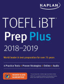 TOEFL IBT Prep Plus 2018-2019