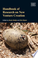 Handbook of Research on New Venture Creation Book