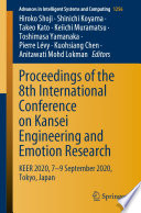Proceedings of the 8th International Conference on Kansei Engineering and Emotion Research