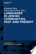Languages in Jewish Communities  Past and Present