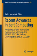 Recent Advances in Soft Computing