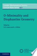 O Minimality And Diophantine Geometry