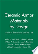 Ceramic Armor Materials by Design