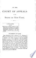 New York Court of Appeals