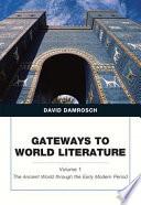 Gateways to World Literature