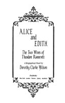 Alice and Edith Book