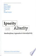 Ipseity and alterity