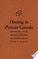 Housing In Postwar Canada