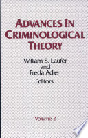 Advances In Criminological Theory Volume 2