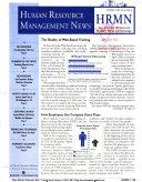 Human Resource Management News PDF