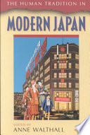 The Human Tradition In Modern Japan Book PDF