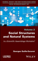 Pdf Social Structures and Natural Systems Telecharger