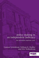 Policy Making In An Independent Judiciary