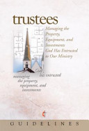 Guidelines for Leading Your Congregation 2009 2012   Trustees