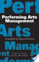 Performing Arts Management