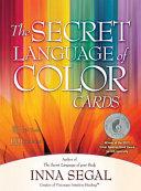 The Secret Language of Color Cards Book PDF