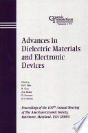 Advances in Dielectric Materials and Electronic Devices Book