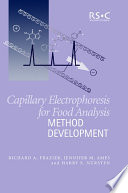 Capillary Electrophoresis for Food Analysis