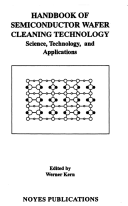Handbook Of Semiconductor Wafer Cleaning Technology Book PDF