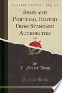 Spain and Portugal Edited From Standard Authorities