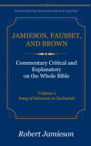 Pdf Jamieson, Fausset, and Brown Commentary on the Whole Bible, Volume 2 Telecharger