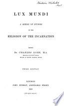 Lux Mundi Book