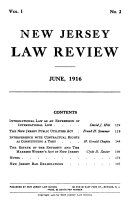 New Jersey Law Review