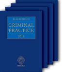 Blackstone's Criminal Practice 2016