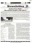 Arizona Commission of Indian Affairs Newsletter Quarterly
